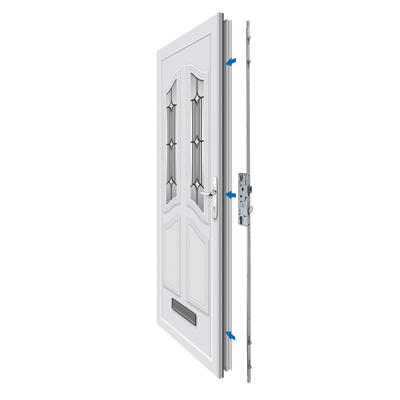 Yale Doormaster™ Universal Replacement Multipoint Lock - 45mm Backset