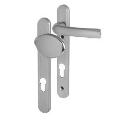 Hoppe Tokyo Multipoint Handle - uPVC/Timber - 92mm centres - 60-70mm door thickness - Lever/Pad - S