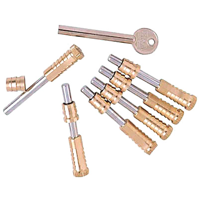 ERA® Vertical Sliding Sash Screw - Brass - Pack of 6