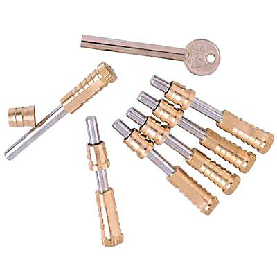 ERA® Vertical Sliding Sash Screw - Brass - Pack of 6