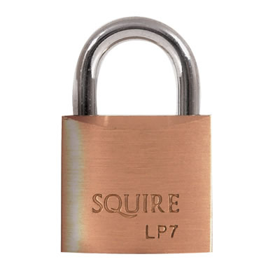 Squire Leopard Brass Padlock - 25mm