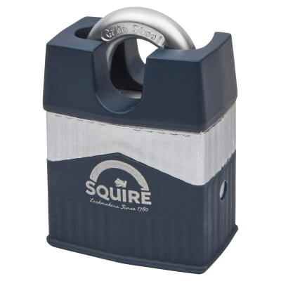 Squire Warrior Closed Shackle Padlock - 55mm