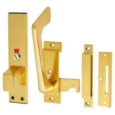 Facility Indicator Bolt - Gold Anodised Aluminium