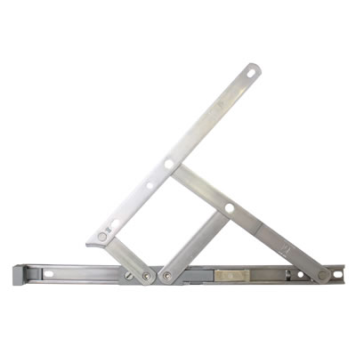 Securistyle Restrictor Friction Hinge - uPVC/Timber - 400mm - Top Hung - Pair
