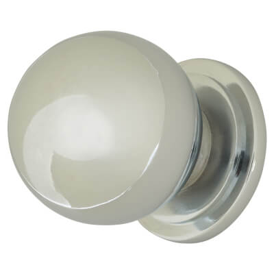 Touchpoint Ball Cabinet Knob - 30mm - Polished Chrome)