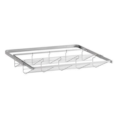 elfa® Gliding Shoe Shelf - 605mm - Platinum)
