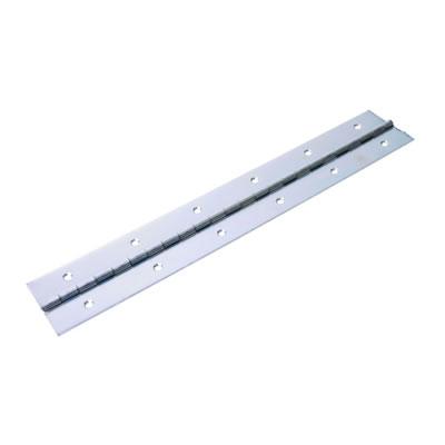 Heavy Mild Steel Piano Hinge - 2134 x 50 x 1.2mm - Zinc Plated)
