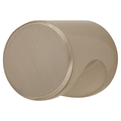 Morello Aries Cabinet Knob - 20mm - Brushed Nickel)