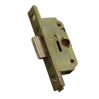 Saracen Shootbolt Locking Drive Gearbox - 20mm Backset - 9.5mm Deadbolt Height