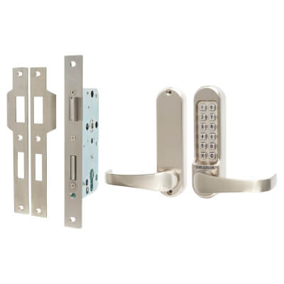 Codelocks 520 Mechanical Lock - Stainless Steel