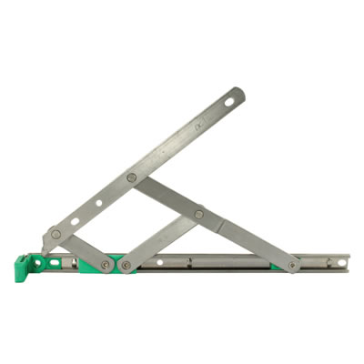 Egress Only Friction Hinge - uPVC/Timber - 13mm Stack - 16 inch / 400mm - Side Hung