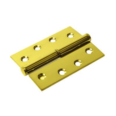 Lift-Off Hinge - 102 x 76 x 2mm - Left Hand - PVD Brass - Pair