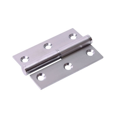 Lift-Off Hinge - 75 x 53 x 2mm - Left Hand - Satin Stainless Steel - Pair