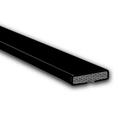 Fire Only Intumescent Strip - 20 x 4 x 2100mm - Plain - Black - Pack 10