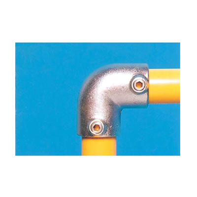 Elbow Connector - 90 degree - Galvanised)