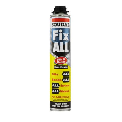 Soudal Fix All Fills and Bonds - 750ml - Gun Grade