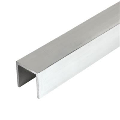 2000mm Channel - 19 x 19 x 1.6mm - Aluminium