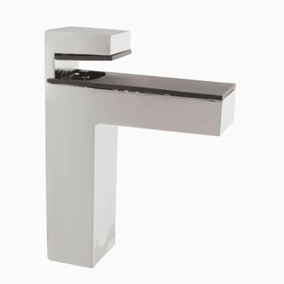 Cube Shelf Support Bracket - 8-50mm Shelf Thickness - Polished Chrome
