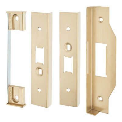 A-Spec 12mm Rebate Kit for Mortice Nightlatch - PVD Brass