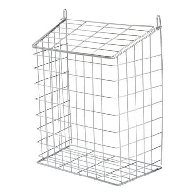Letter Cage - 356 x 229 x 153mm - Polished Chrome)