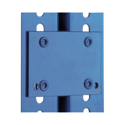 Set of 4 tie Plates for - 400kg shelving