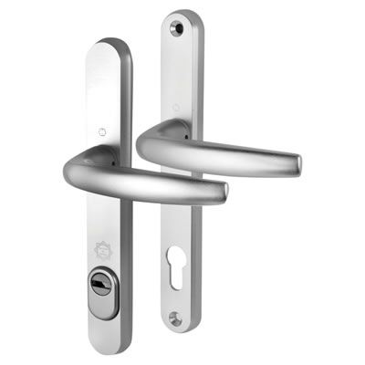 Hoppe PAS 24 - uPVC/Timber - Multipoint Door Lock Security Handle - 92mm centres - 60mm Door Thickn)