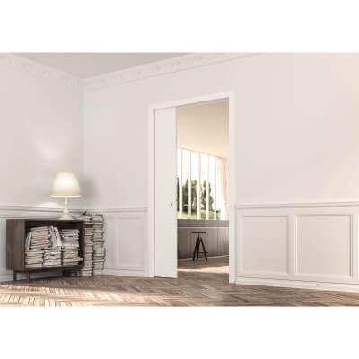Eclisse Single Pocket Door Kit - 100mm Finished Wall - 686 x 1981mm Door Size