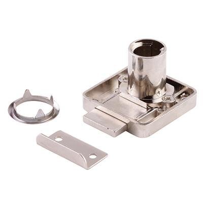 Drawer Lock - 18 x 22mm - Left Hand - Housing Only