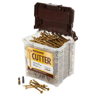Reisser Cutter Tub - 5 x 70mm - Pack 450)