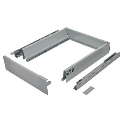 Blum TANDEMBOX ANTARO Internal Drawer - BLUMOTION - (H) 84mm x (D) 450mm x (W) 450mm - Grey)