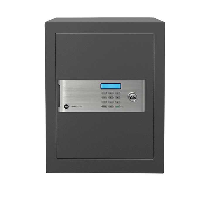 Yale® Certified Office Safe - 400 x 350 x 340mm - Grey)