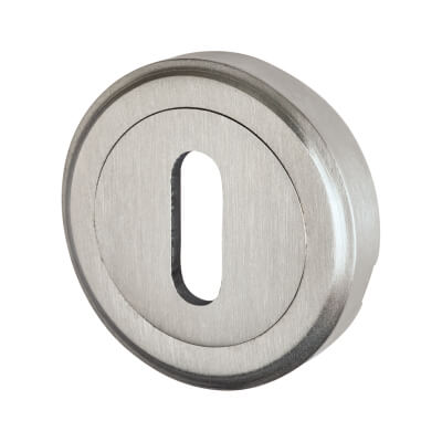 M Marcus Escutcheon - Keyhole - Satin Chrome