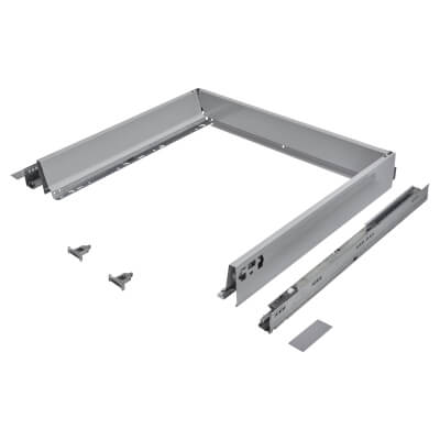 Blum TANDEMBOX ANTARO Drawer Pack - BLUMOTION Soft Close - (H) 84mm x (D) 500mm x (W) 800mm - Grey