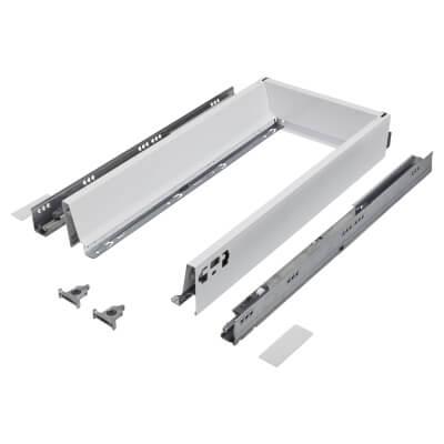 Blum TANDEMBOX ANTARO Drawer Pack - BLUMOTION Soft Close - (H) 84mm x (D) 500mm x (W) 300mm - White