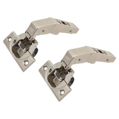 Blum CLIP Top Soft Close Blind Corner Cabinet Hinge - 95° - Inset - Pair