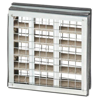60-Minute Intumescent Air Transfer Vent - 150 x 150mm