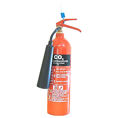 Co2 Fire Extinguisher - 2kg)