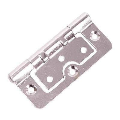 Hurlinge Hinge - 75 x 51 x 1.5mm - Chrome