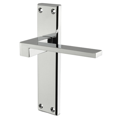 Carlisle Brass Equi Door Handle - Latch Set - Polished Chrome