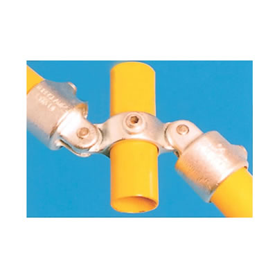 Combination Connector with Through Centre Tube - Double Swivel