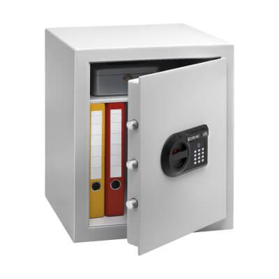 Burg Wächter C 4 E CityLine Electronic Fire Safe - 528 x 435 x 382mm - Light Grey)