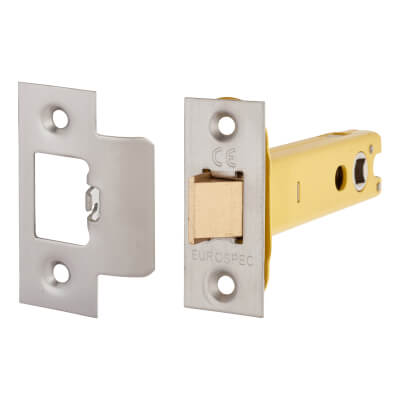 Altro Heavy Duty Tubular Latch - 103mm Case - 82mm Backset - Satin Stainless)