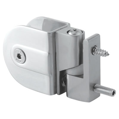 Cubicle Rise/Fall Hinges - 19-20mm Panels - 316 Stainless Steel)