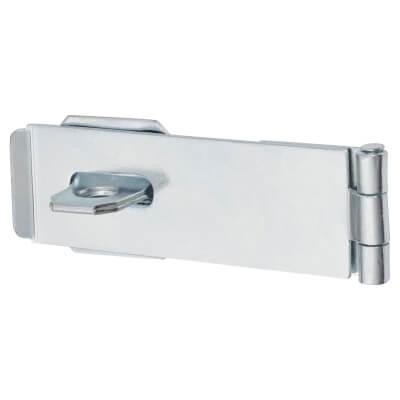 Light Duty Safety Hasp & Staple - 115mm)