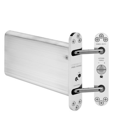 Powermatic R100 Hydraulic Concealed Closer - Satin Chrome)