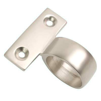 Centre Mounting Sash Ring Lift - 30mm - Satin Nickel