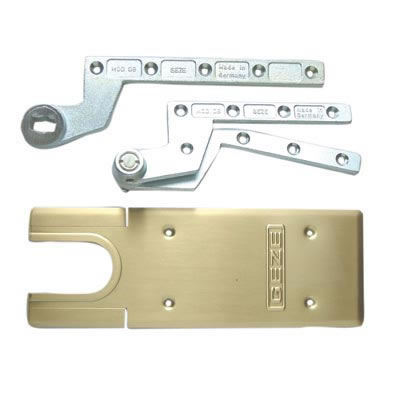 GEZE TS500NV Accessory Pack - Single Action - Polished Brass