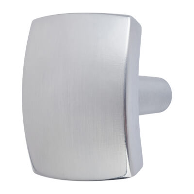 Ero Cabinet Knob -Brushed Chrome