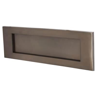Jedo Letter Plate - 305 x 100mm - Dark Bronze