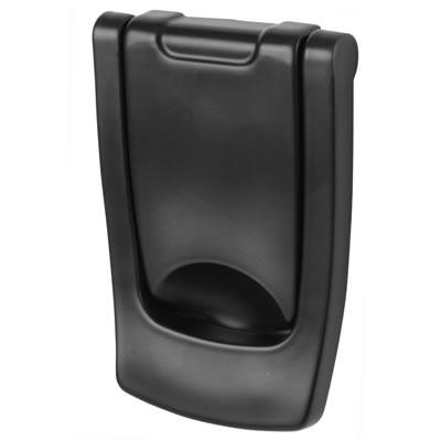Hoppe Designer Knocker - 110 x 74mm - Black